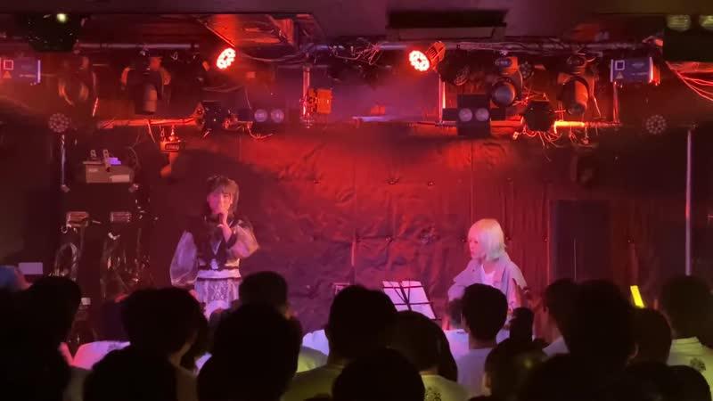 Kirara Takiguchi acoustic solo Omoide ga ippai H2O cover Live at Kirara seitan sai in Shinjuku club science 2020 02 11