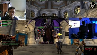 VR Treadmill and HTC Vive in WoW - Journey to 60 and beyond