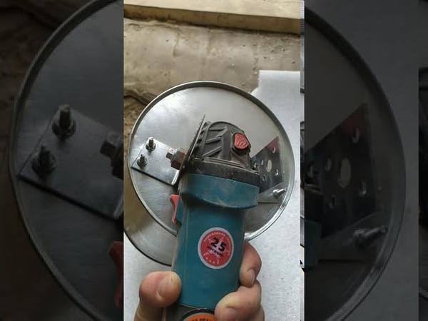 Зерно дробилка из болгарки и ведра за 5 мин