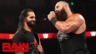 [WBSOFG]  Braun Strowman accepts Seth Rollins' challenge: Raw, Sept. 23, 2019
