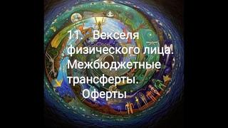 11 Векселя физического лица Межбюджетные трансферты Оферты