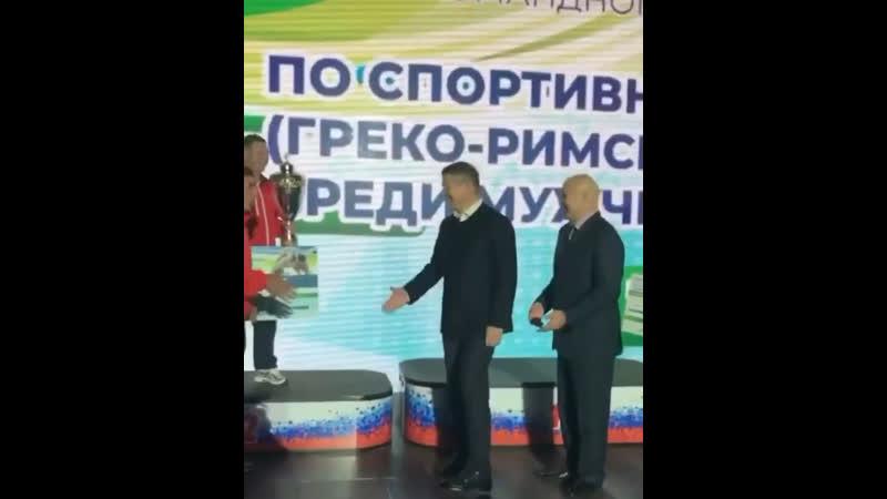 Кубок России по греко Римской борьбе
