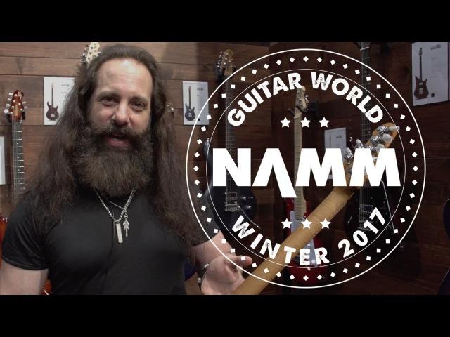 NAMM 2017 Ernie Ball Music Man John Petrucci Monarchy JP15 and NOMAC Majesty Limited Edition