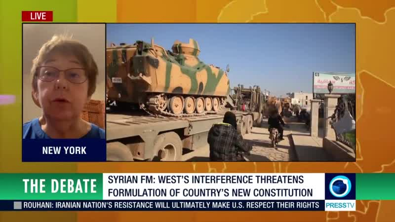 Debate the occupation of Syria by the US, Turkey and Israel