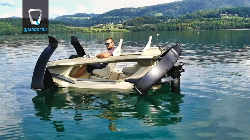 Quadrofoil - About amazing electric boat