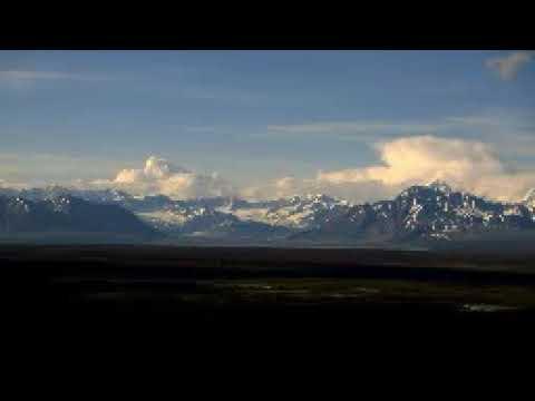 Горные виды Аляски