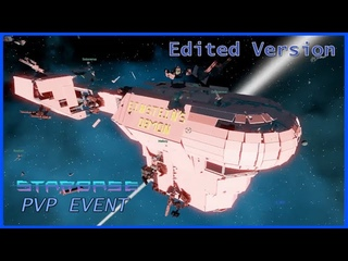 STARBASE - Big Ship Combat Funny Moments and Battle Overview!