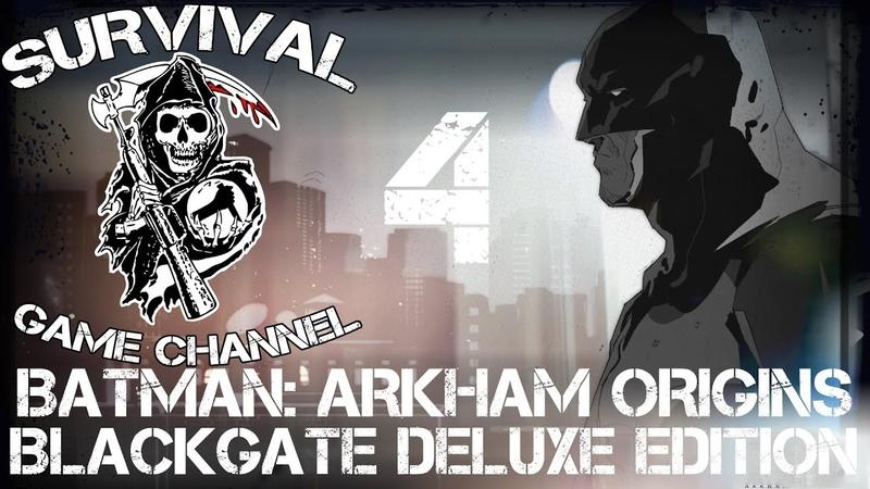 ТИР — Batman Arkham Origins Blackgate Deluxe Edition прохождение [1080p] Часть 4