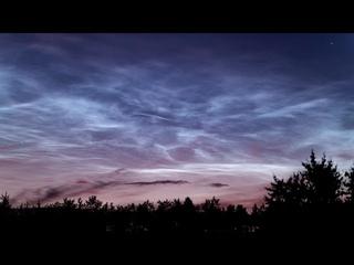 Серебристые облака.  Новосибирск UHD4K