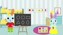 Apprendre les formes : rond, carré, triangle, rectangle, losange et ovale