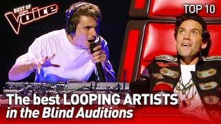 TOP 10 | Incredible LIVE LOOPING ARTISTS in The Voice