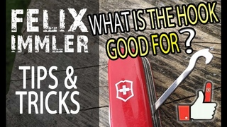 13 uses of the SAK hook & a unique modifying trick - Victorinox Tips & Tricks (28/40)