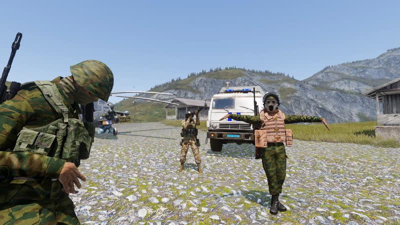 ARMA III Что бывает когда Главнокомандующий веселый