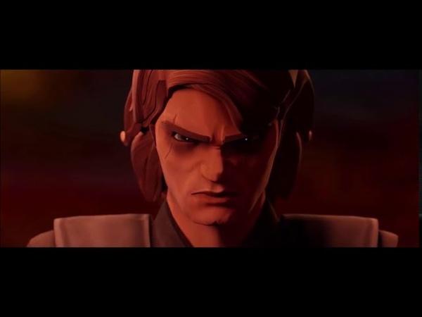 Anakin vs. Obi-Wan CLONE WARS STYLE (Clip 2)