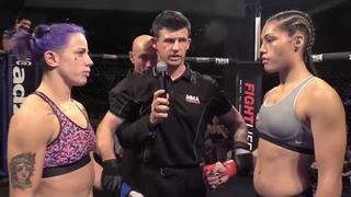 ETERNAL MMA 19 - JESSICA ROSE CLARK VS JANAY HARDING - WMMA FIGHT VIDEO