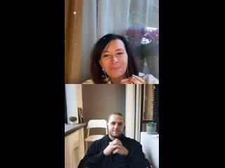 Прямой эфир с Владом и Евгенией Павловской в Instagram  ()