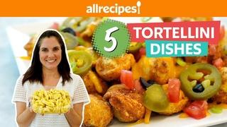 5 Easy Ways To Transform Store-Bought Tortellini | Tortellini Pizza, Skewers, Stew, & Pasta Salad