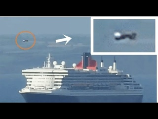 UFO Flew Past Queen Mary Ship In Torquay, UK