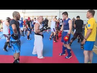 Шихан Иво Каменов провел тренировку по фулл-контакту