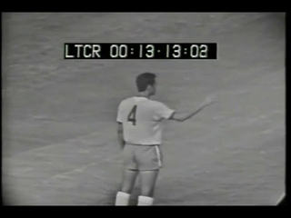 Amistoso 1970. Brasil 0 x 2 Argentina