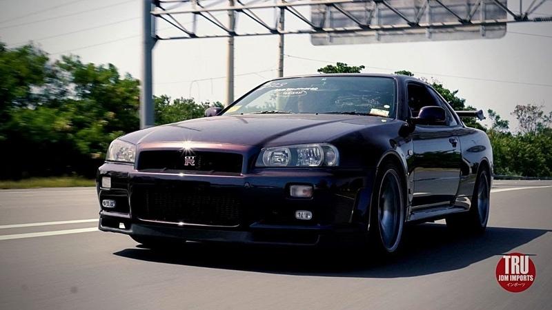Tru JDM Imports Midnight Purple II Vspec R34 GTR