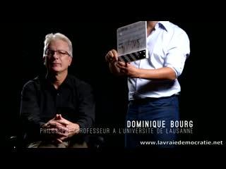 Dominique bourg Philosophe et Professeur à l'Université de Lausanne France Fr environnement