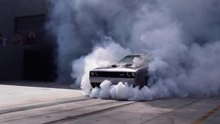Brutal Hellcat Burnout Compilation