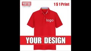 Yotee2020 новая высококачественная хлопковая повседневная рубашка поло с короткими рукавами, с вышивкой для мужчин и женщин