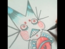 """Drawin a catfish n @mkpunx pinched my bum  art catfish kitty"""