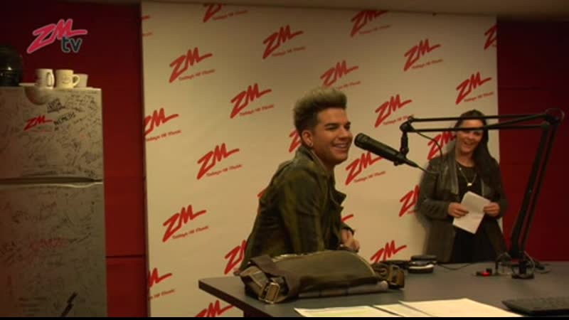2012-10-11 - ZM - The Polly and Grant Daily Podcast - Adam Lambert Special - BTS
