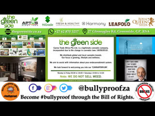 The Green Side | Canna Trade Africa | 27 Gleneagles Rd, Greenside