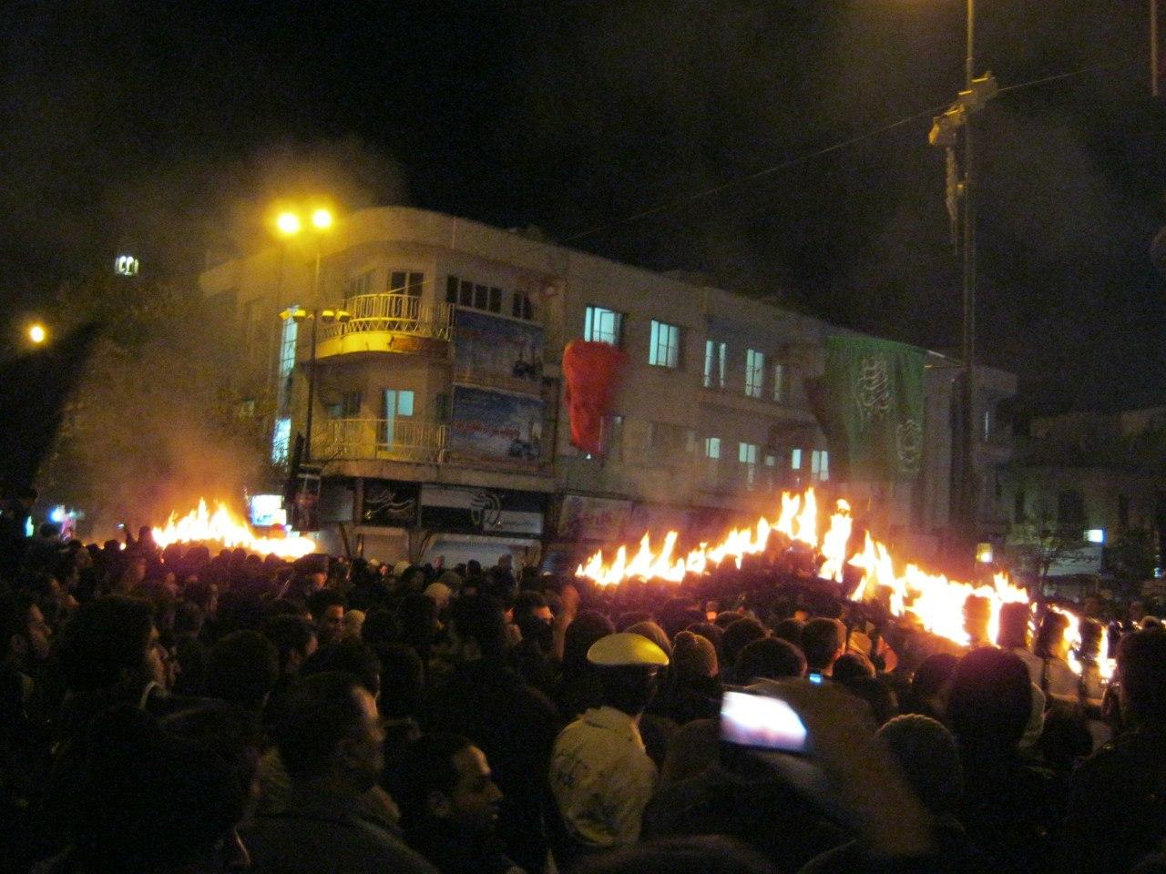 шииты отмечают Ашура в городе Кум