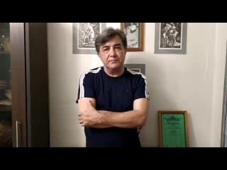 Виктор Хаптаханов призывает соблюдать правила самоизоляции