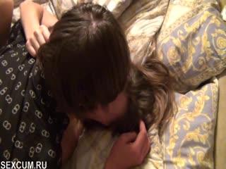 Рогоносец снимает жену SexWife с другом (Русское порно Брюнетки HD Жена сексвайф Красотка Любительское МИЛФ Свингеры)