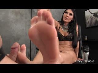 Obey Melanie - My Feet Your Dick, Milking