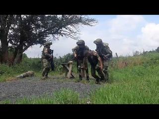 Разведчики ЮВО уничтожили группу диверсантов условного противника в Ростовской области