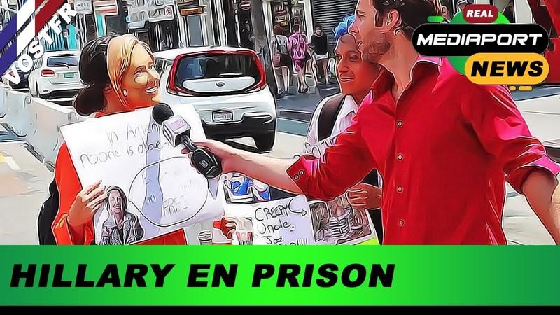 💊 HILLARY DEVRAIT ÊTRE EN PRISON