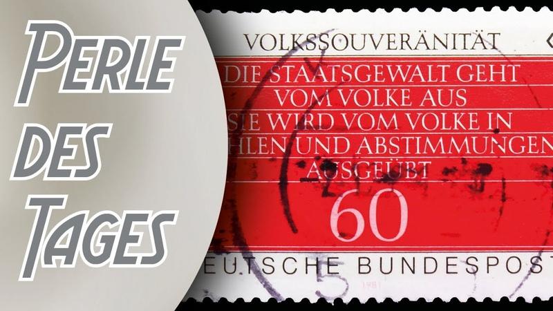 Die Bundesrepublik entledigt sich ihrer demokratischen Errungenschaften Perle 246