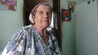 Трогает до слез чистота души, вера Богу. Мария видела ад и ангелов. В 84 года читает стихи о Боге.
