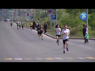 Александр Клишин в экологическом забеге «Зеленый марафон»