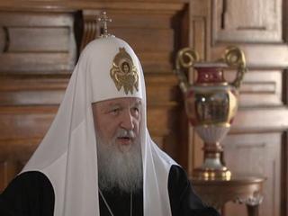 Пасхальное интервью Святейшего Патриарха Кирилла.