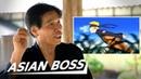 Real Life Ninja Reacts To Naruto ASIAN BOSS