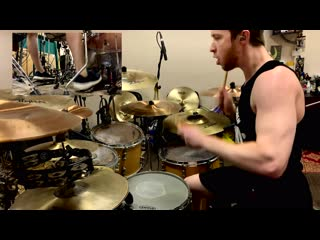 Thy Art Is Murder - Death Squad Anthem Drum Cover by Alexander Dovgan'