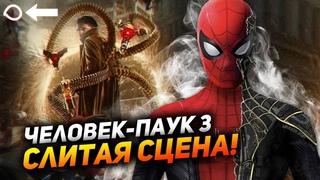 Целая слитая сцена Человека-паука 3:Нет пути домой! Анонс новых фильмов Марвел?