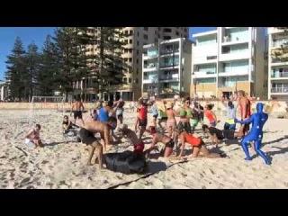 Beach Handball Harlem Shake