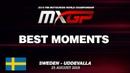 BEST MOMENTS MXGP MXGP of Sweden 2019 motocross
