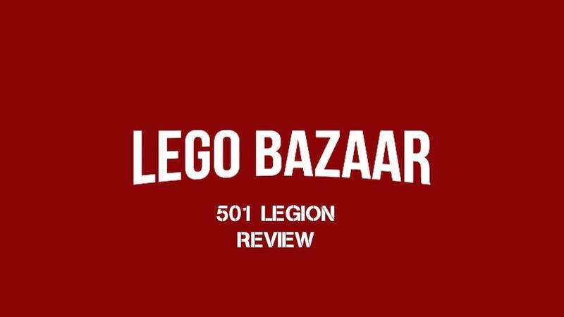 LEGO STAR WARS MINIFIGURES 501ST LEGION REVIEW