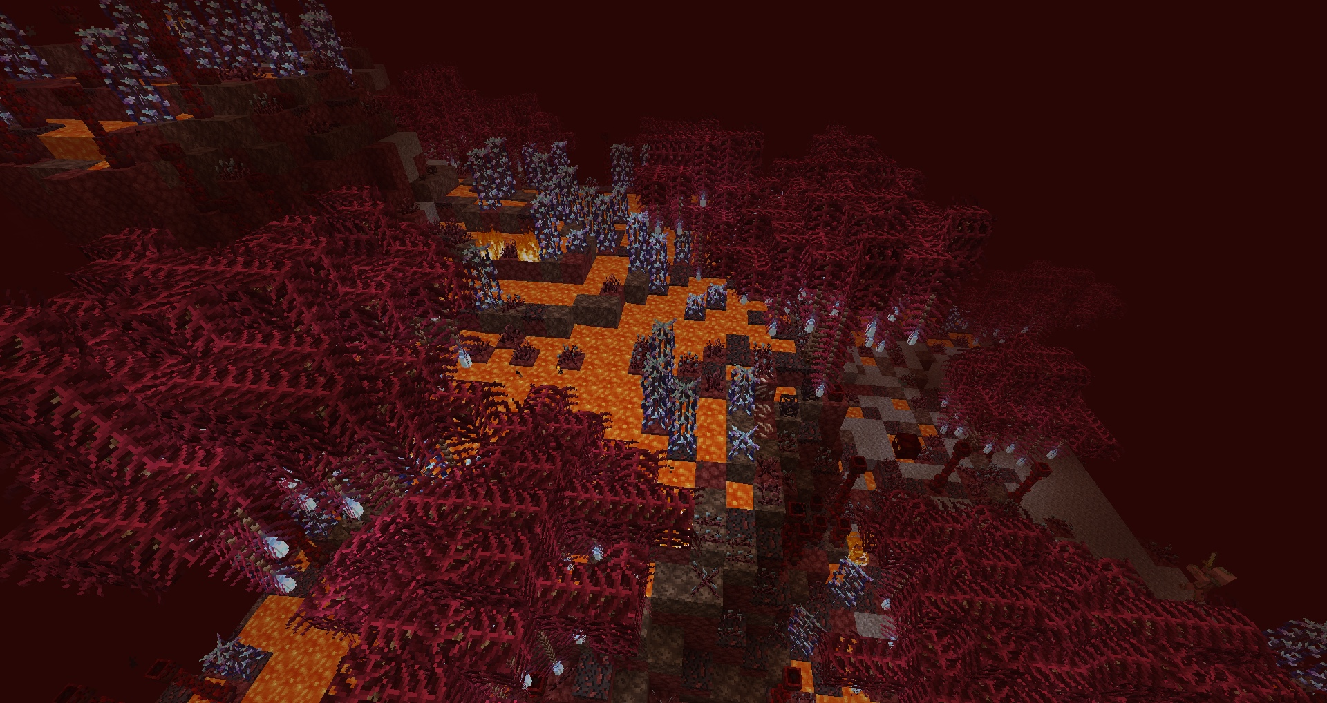 Terraced Nether Swamp
