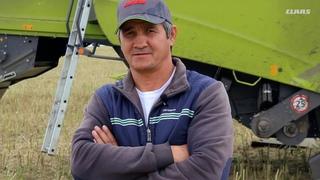 Зерноуборочный комбайн CLAAS TUCANO 450 Отзыв КФХ Алиев