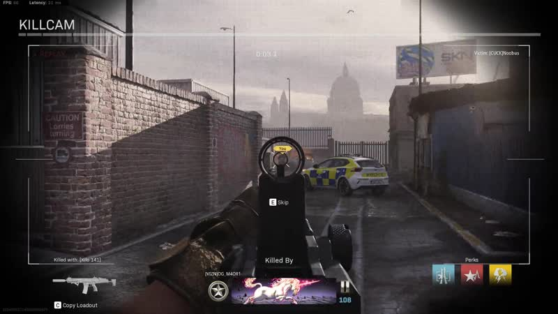 The netcode in this game is terrible Modern Warfare